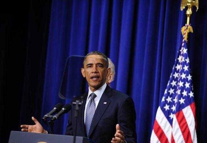 Barack Obama ofreció un homenaje especial a los cuatro mil 500 soldados estadunidenses que perdieron la vida en el conflicto de Irak. (Agencias)
