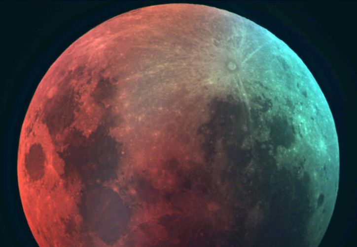 El próximo sábado 4 de abril se podrá apreciar el eclipse total de luna. (Archivo/SIPSE)