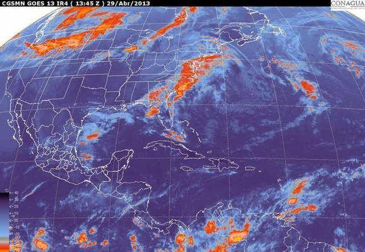 Soplarán vientos de componente oriental de 20 a 40 km/h con rachas. (smn.cna.gob.mx)