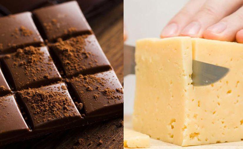 Los alimentos deliciosos como chocolate, queso y alcohol podrían estar relacionados con el chocolate y el queso. (Imagen especial)