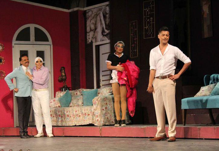 Los actores tuvieron una magistral actuación. (Faride Cetina/SIPSE)
