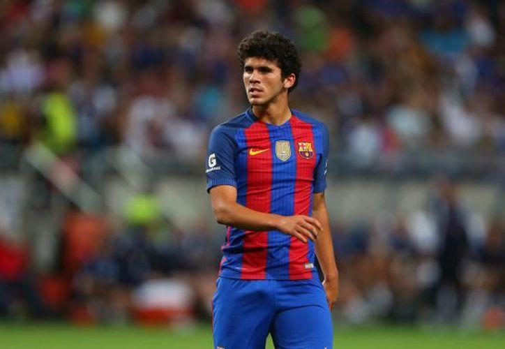 Carles Aleñá ha llegado a un acuerdo con el FC Barcelona para renovar su contrato. (Catherine Ivill - AMA/Getty Images).
