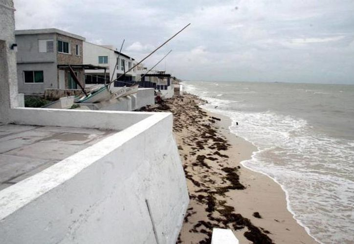 En algunos lugares prácticamente ya desapareció la Zona Federal Marítimo Terrestre, que se define como la franja de 20 metros de ancho de tierra firme, transitable y contigua a la playa. (Archivo/SIPSE)