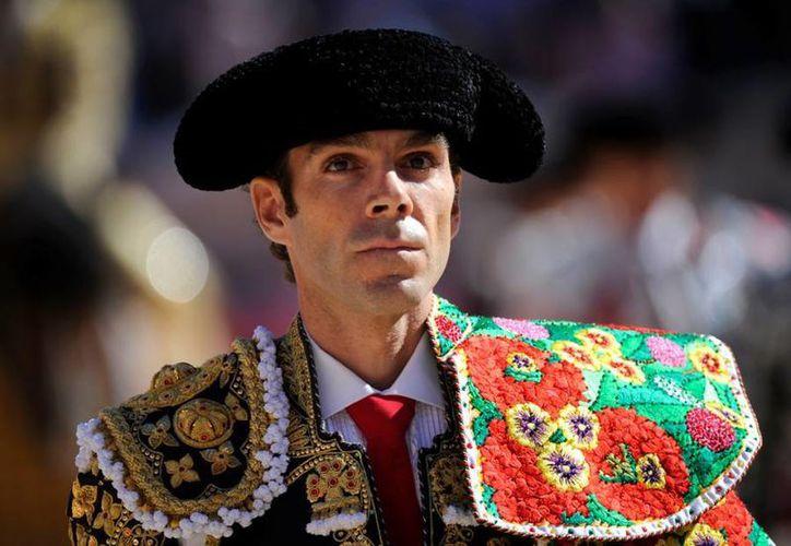 """La última vez que José Tomás pisó la Plaza México fue en noviembre de 2009, cuando otro torero aguascalentense, Arturo Macías, lo venció en otro """"mano a mano"""" histórico. (Imagen tomada de antena3.com)"""