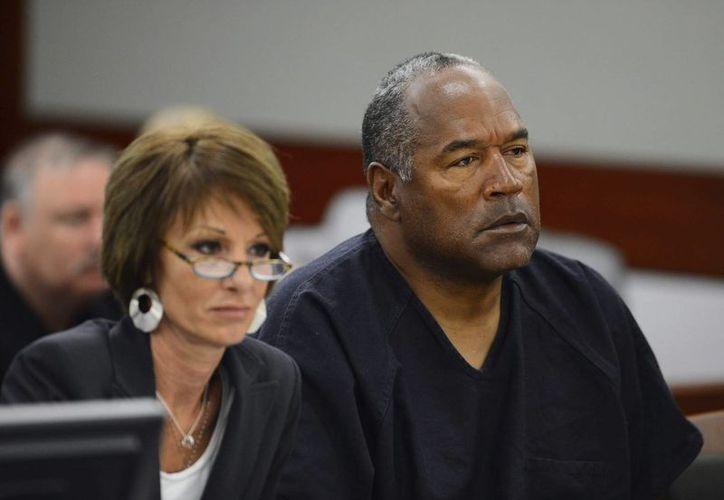 Niegan que cuchillo hallado en casa de OJ Simpson tenga relación con su caso. Imagen de archivo del exjugador estrella del fútbol americano. (EFE)