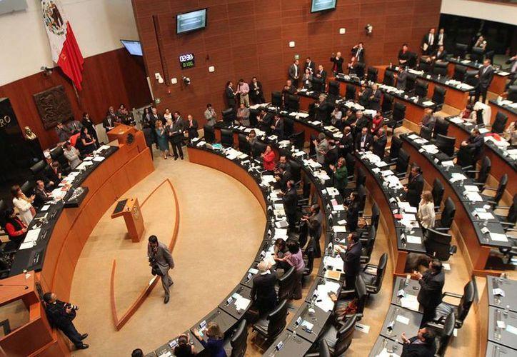 Aprobación en lo general de la Ley de Consulta Popular en la Cámara de Diputados. (Notimex)