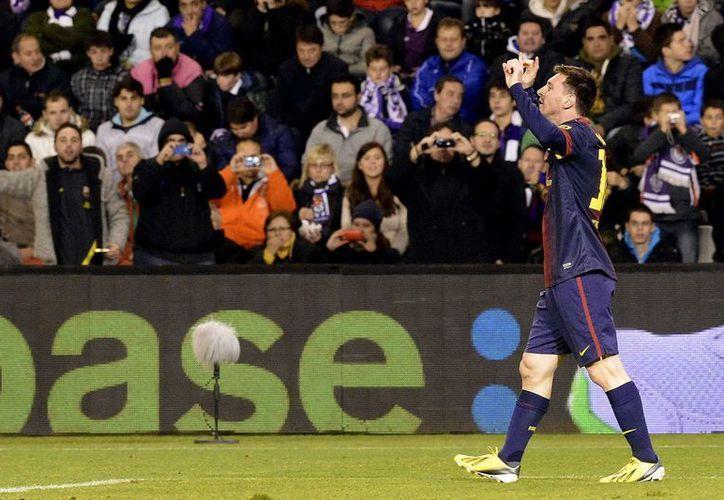 La distinción de la IFFHS a Messi es por sus goles con Argentina y el Barza en eventos internacionales, así como en Juegos Olímpicos. (EFE)