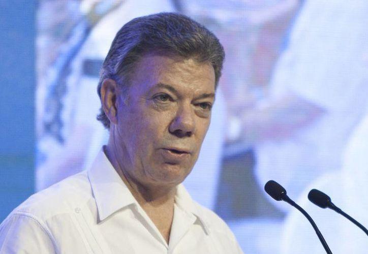 Juan Manuel Santos recordó que Colombia ha capturado a grandes líderes de la guerrilla. (EFE/Archivo)
