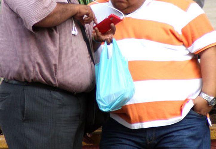 La obesidad es un padecimiento común entre los yucatecos. (Foto: Milenio Novedades)