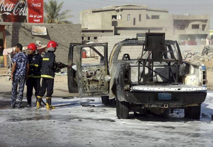 Irak vive un repunte en la violencia contra las fuerzas del orden. (EFE)