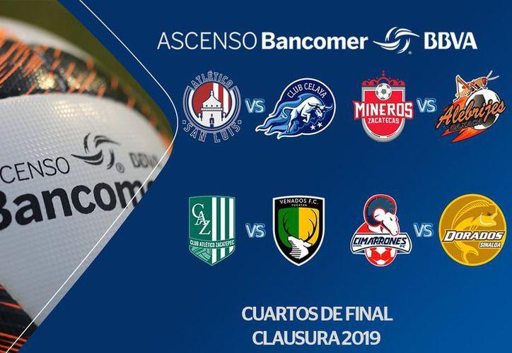 Después de un mal inicio de torneo, que lo acercaba al descenso, Venados es ahora uno de los equipos de la liguilla del Ascenso MX (Imágenes: @AscensoMX