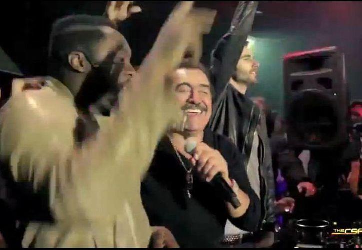 Polémica ha generado el dueto entre Will.i.am y Joan Sebastian. (captura de pantalla)