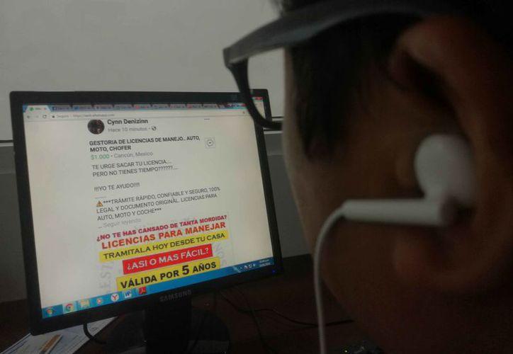 Las gestiones se promueven en redes sociales, particularmente en grupos locales de Facebook. (Daniel Pacheco/SIPSE)