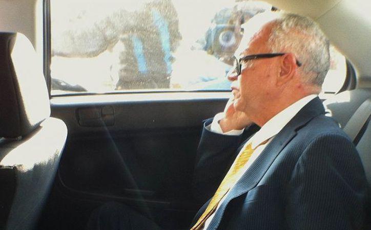 Andrés Granier, ex gobernador de Tabasco, obtuvo un amparo contra el auto de formal prisión dictado por el delito de defraudación fiscal agravada.  (Cuartoscuro)