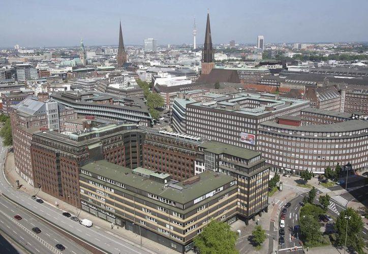 """El barrio """"Kontorhaus"""" de la ciudad alemana de Hamburgo fue incluida en la lista de Patrimonio Mundial de la Unesco. (EFE/Archivo)"""