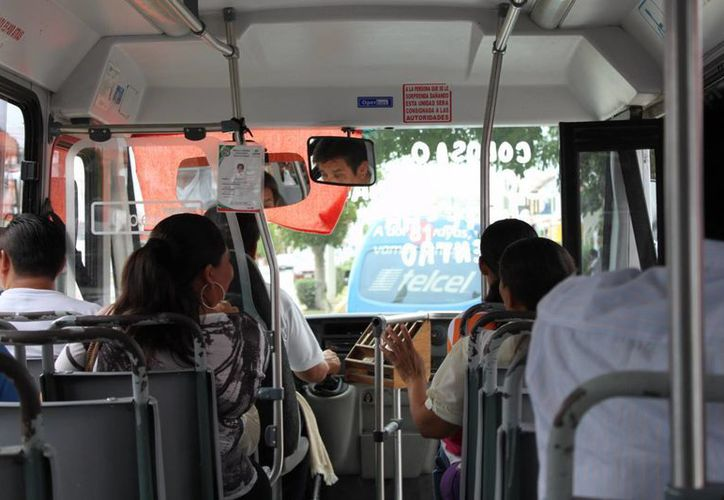 Incrementarán el nivel del transporte público. (Adrián Barreto/SIPSE)