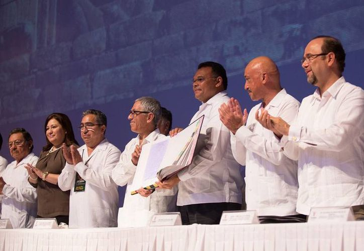 En el Gran Museo del Mundo Maya, se inauguraron las IV Jornadas Internacionales para la Gestión de la Calidad Educativa, en Yucatán. (Cortesía)