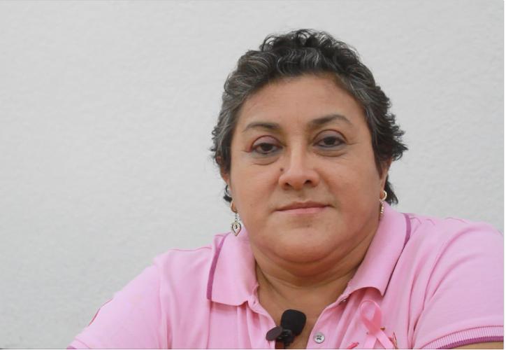 Gracias a una jornada de detección, Claudia se enteró de su enfermedad. (Foto: Sergio Orozco)
