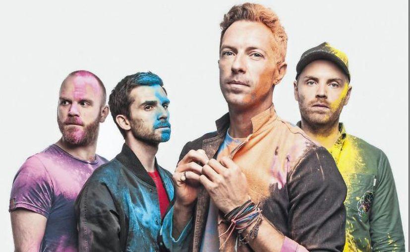 """La banda británica de rock pop Coldplay reapareció con una nueva canción, """"A L I E N S"""". (Contexto/Internet)."""