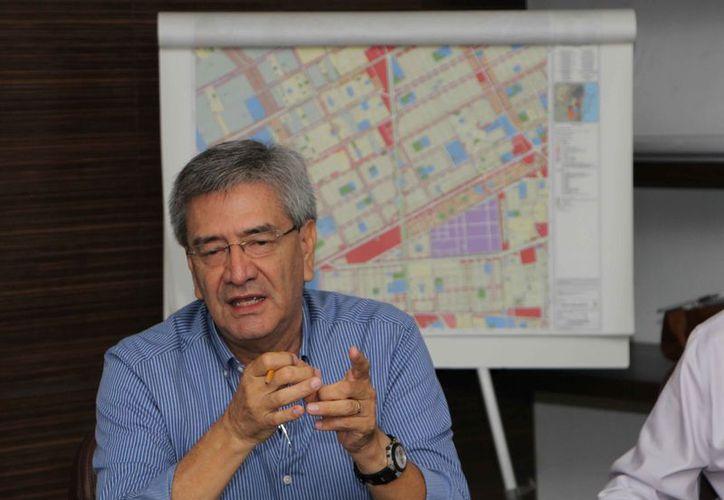 Roberto Quiroz Romero participó directamente en la actualización del PDU 2018-2030. (Paola Chiomante/SIPSE)