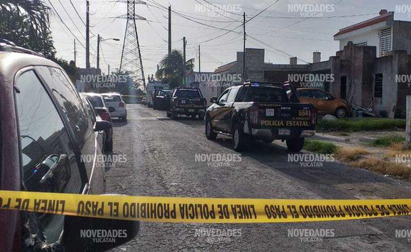 Los violentos hechos ocurrieron en la calle 21 por 24 y 26.