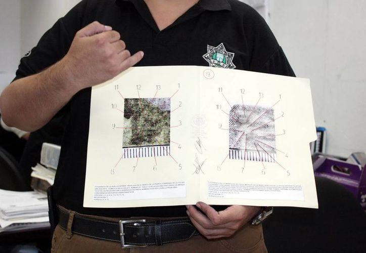 El sistema automatizado de identificación de huellas digitales permite de manera computarizada apoyar el trabajo del perito en dactiloscopia. (SIPSE)