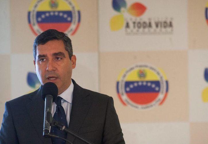 El ministro del Interior de Venezuela, Miguel Rodríguez. (EFE/Archivo)