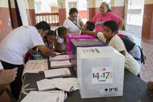 Jornada electoral en Akil