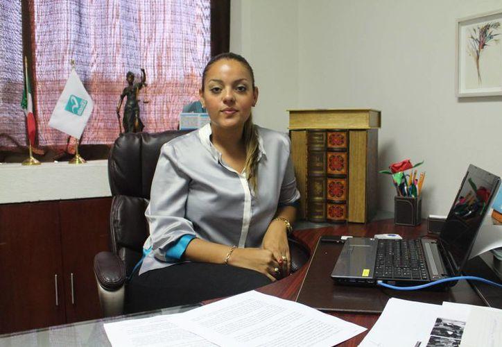 Gabriela Barquet Juárez, regidora en Solidaridad, dijo que espera esté funcionando para septiembre u octubre. (Luis Ballesteros/SIPSE)