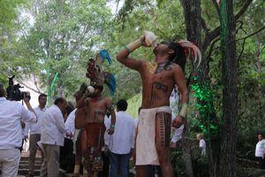 Presentación del Festival Internacional de la Cultura Maya 2015