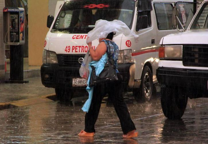 A pesar de las lluvias, el ambiente será cálido durante gran parte del día y templado por la noche. (SIPSE)