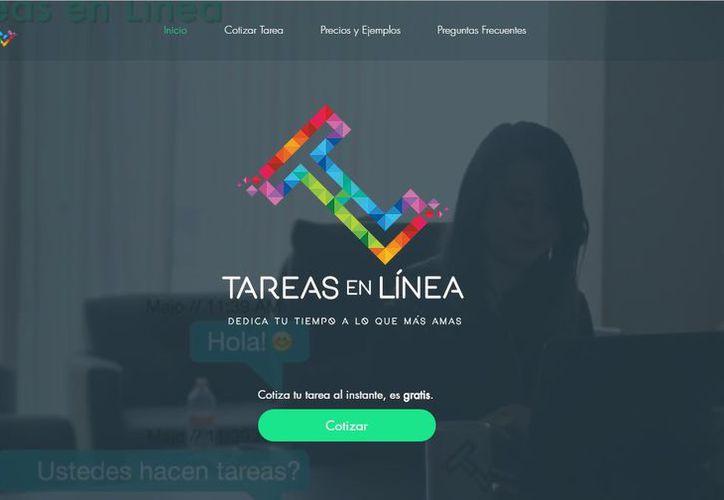 TareasEnLínea puede solicitar un pago de menos de 500 pesos o bien, uno que sobrepase los cuatro mil pesos. (Redacción)