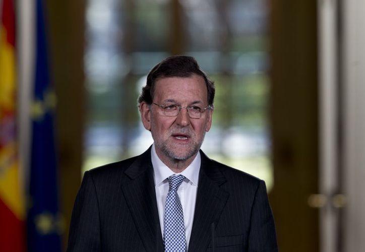 """""""Esperamos que la economía española mejore en la segunda mitad del 2013"""": Rajoy. (Agencias)"""