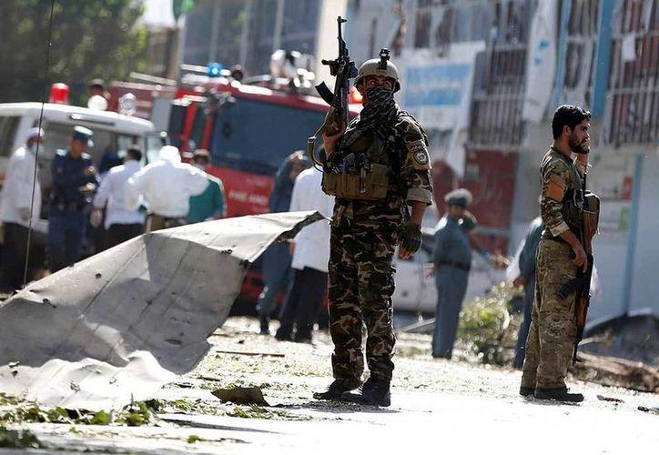 Los talibanes han lanzado una oleada de ataques en los últimos días. (AP).