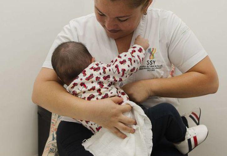 Este lunes fueron inaugurados dos lactarios: uno en el Centro de Salud de Mérida y otro en el Hospital Materno Infantil. (Fotos cortesía del Ayuntamiento)