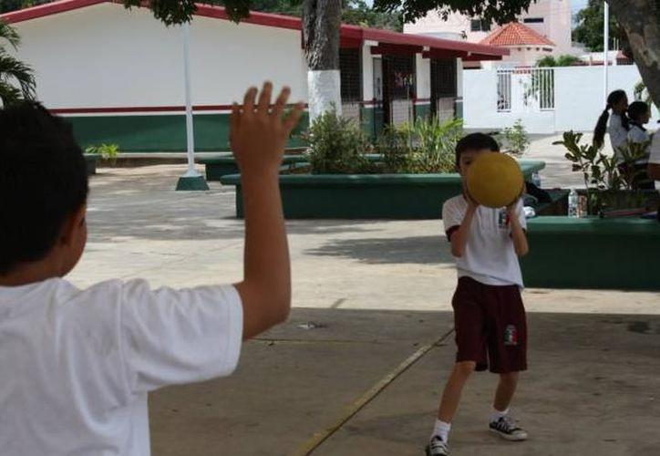 En Yucatán existen 30 nños por cada 100 personas, según estadísticas del Inegi. (Milenio Novedades)