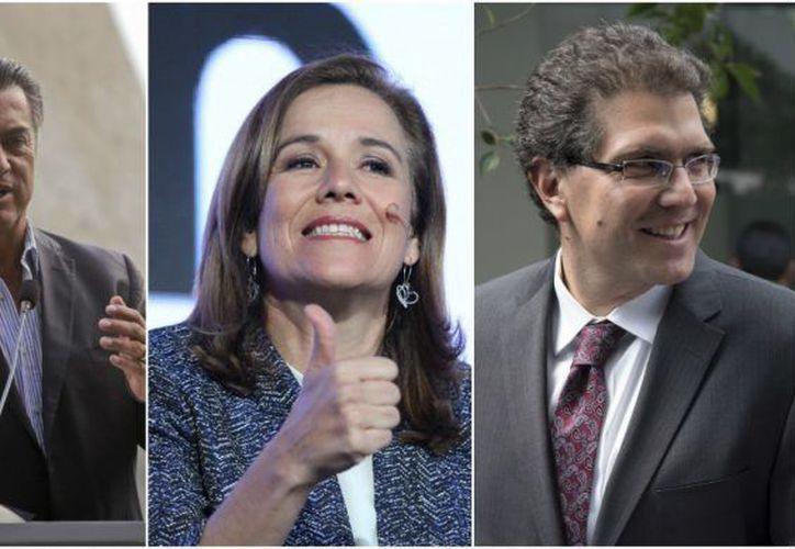 Margarita Zavala, Armando Ríos Piter y Jaime Rodríguez ya pueden registrarse como candidatos independientes a la Presidencia de la República. (Foto: Conexión Migrante)