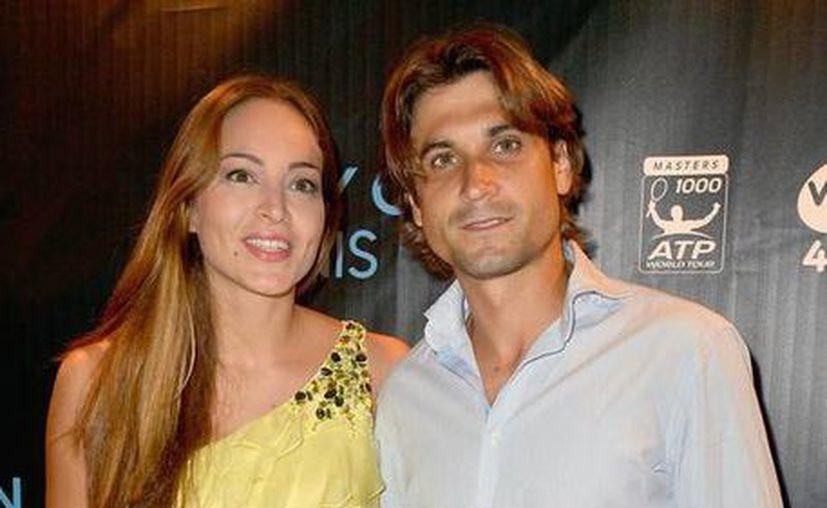 David Ferrer y Marta Tornel. (Foto de Contexto/Internet)