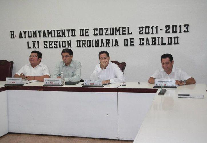 También pidieron las copias de las sesiones de la pasada gestión. (Julián Miranda/SIPSE)