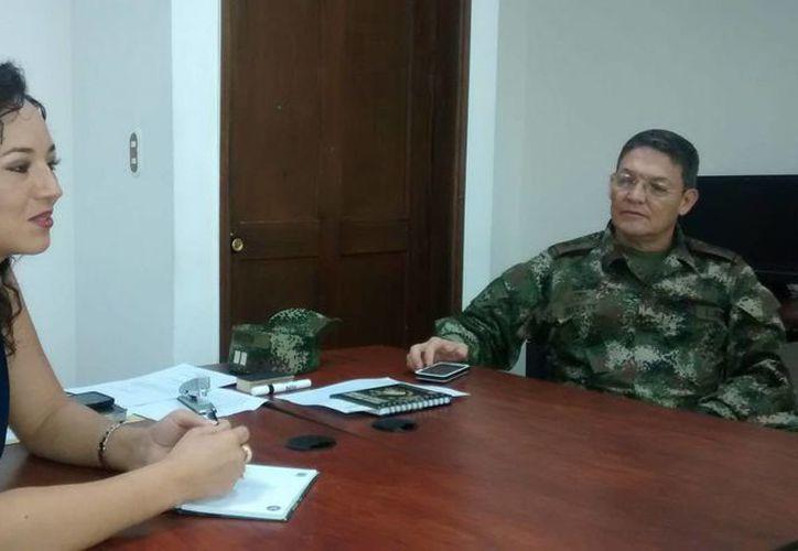 El general Rubén Darío Alzate Mora y la abogada Gloria Urrego fueron liberados exactamente a dos semanas de haber sido capturados. (EFE/Archivo)