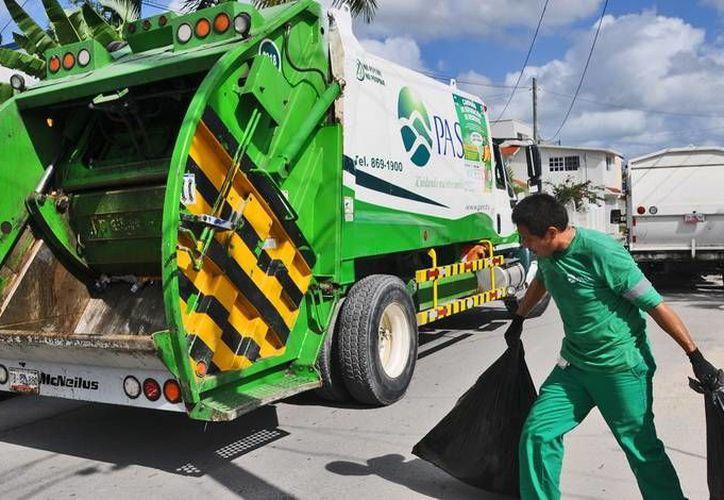 Durante los días cercanos a las fiestas decembrinas el horario de recolección de residuos será diferente en Cozumel. (Redacción/SIPSE)