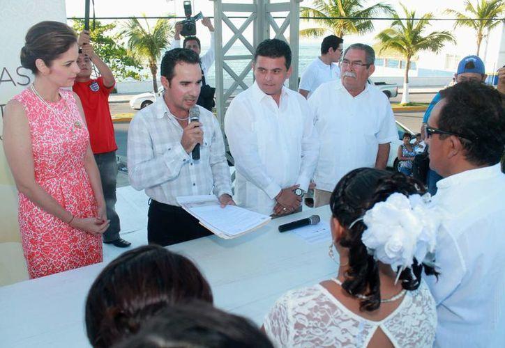 """El evento se realizó en la explanada del """"Parque Quintana Roo"""". (Cortesía/SIPSE)"""