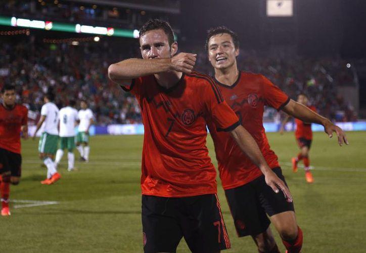 Layún anotó el único gol del encuentro al 18. (Foto: AP)