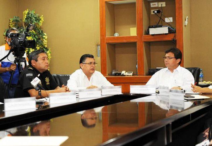 La rueda de prensa para informar sobre los avances en donación de órganos en Yucatán. (SIPSE)