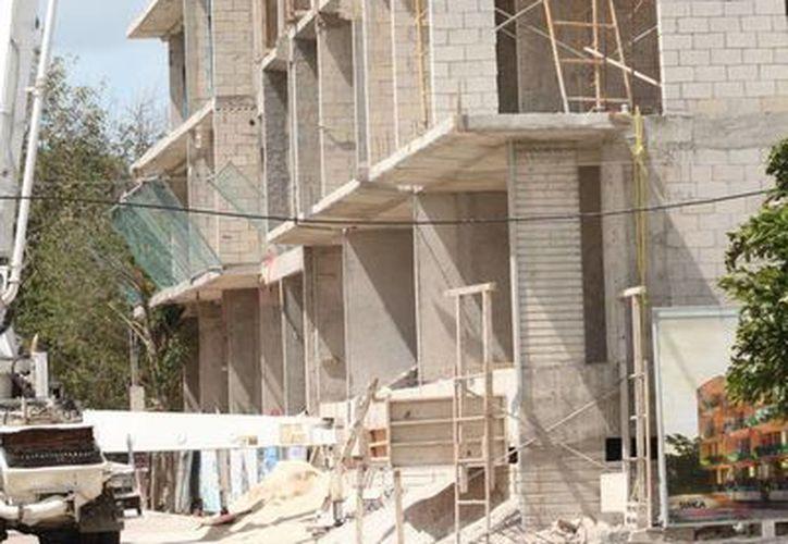 Protección Civil inspeccionará a las obras de construcción registradas en el Ayuntamiento. (Adrián Barreto/SIPSE)