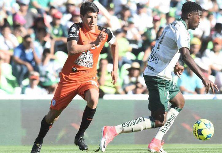 Los laguneros demostraron un mejor fútbol ante los Tuzos. (mexico.as.com)