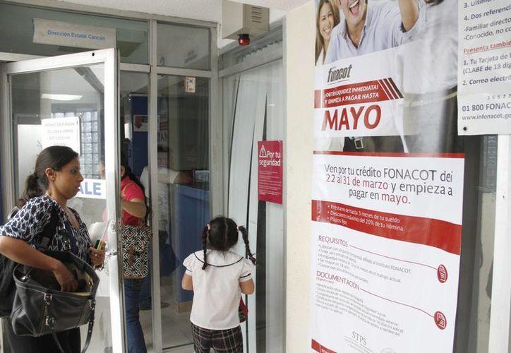 El Infonacot presenta un incremento paulatino en la generación de créditos para trabajadores. (Tomás Álvarez/SIPSE)