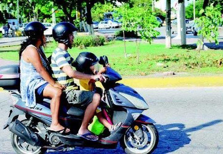 El municipio tiene el 80% del parque vehícular en el estado. (Tomás Álvarez/SIPSE)