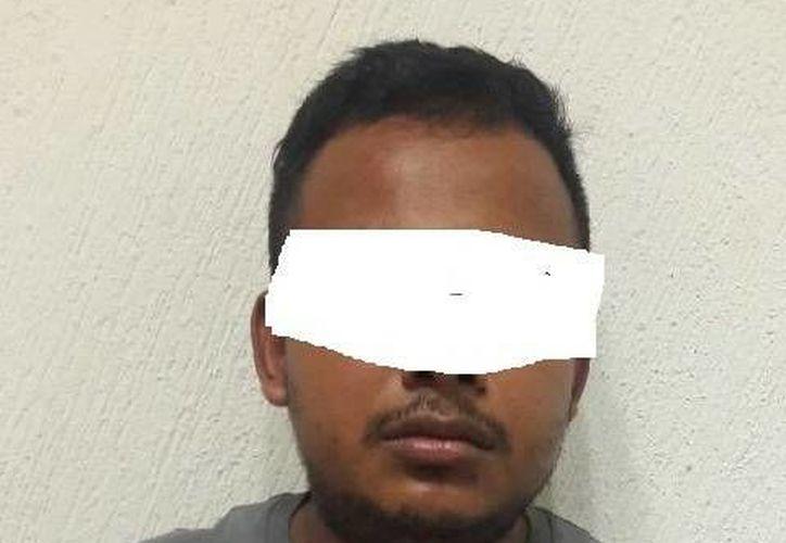 El tabasqueño fue detenido en días pasados cuando participaba en actos vandálicos. (Cortesía/ SIPSE)