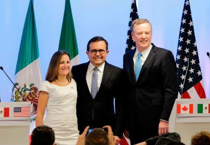 Los ministros acordaron no asistir a la quinta ronda del  Tratado de Libre Comercio de América del Norte. (Foto: Milenio)